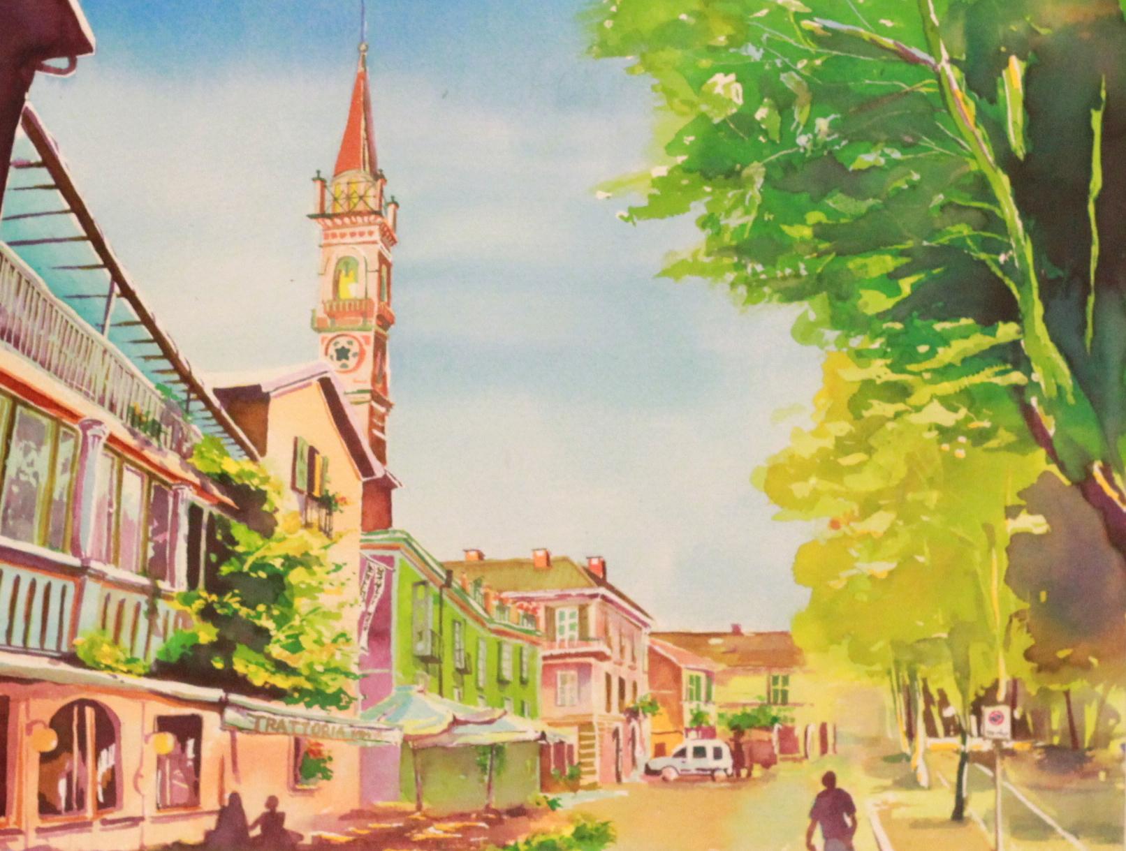 イタリアの風景やイラストが出てきたのでのっけてみます モンド イタリア